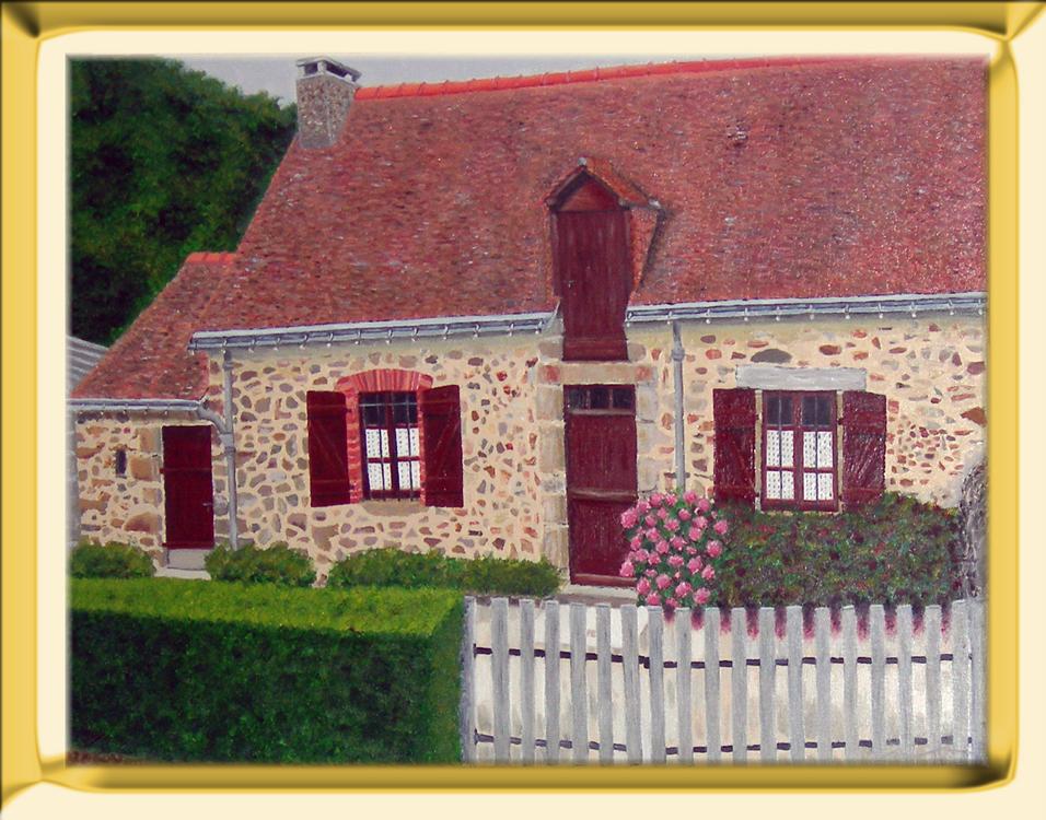 Imagination des couleurs - Peinture de maison ...